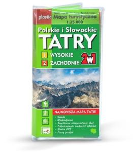 Tatry Mapa Turystyczna Wydawnictwo Wit